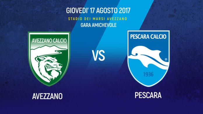 Pescara calcio, alle 18 test ad Avezzano