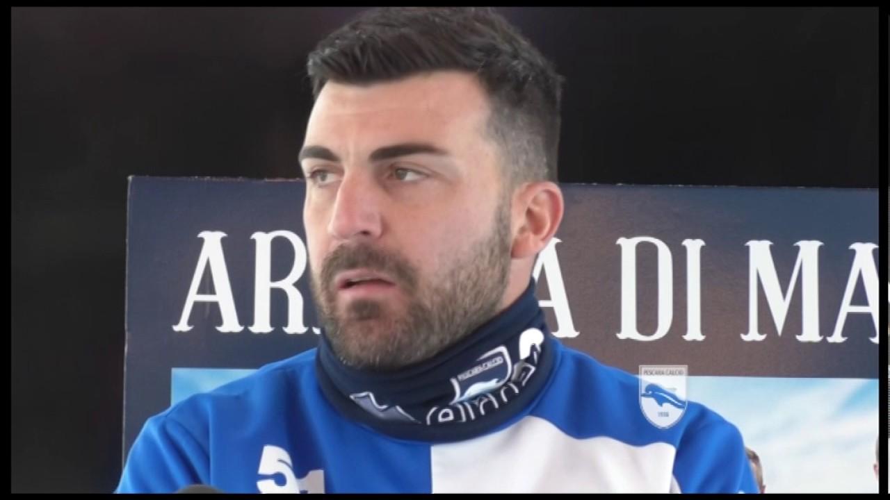 Pescara calcio, Bovo e Mancuso in gruppo
