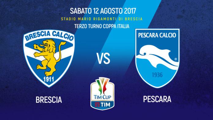 Tim Cup – Brescia Pescara, i probabili 11