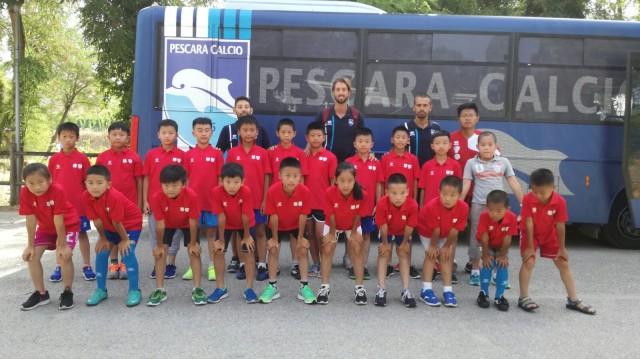 Pescara, delegazione cinese in visita