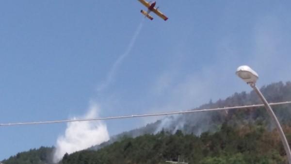 L'Aquila: di nuovo fiamme ad Aragno