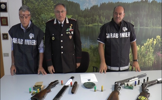 Val Vibrata, arrestati due bracconieri