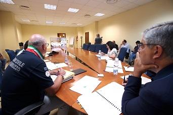 Protezione Civile, D'Alfonso in videoconferenza con Borrelli