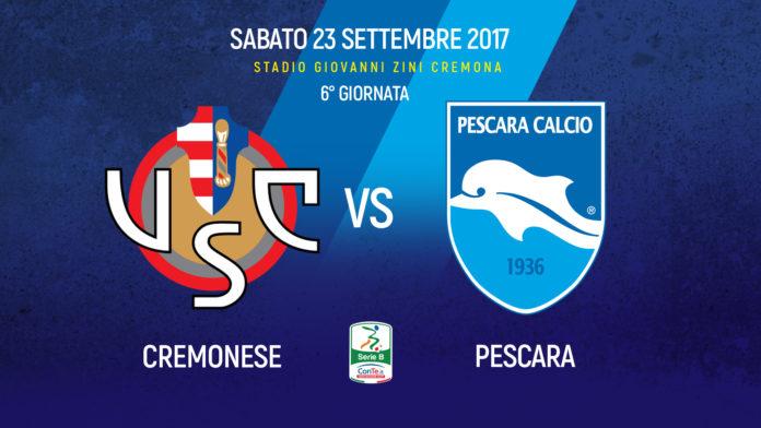 Cremonese Pescara, i probabili 11