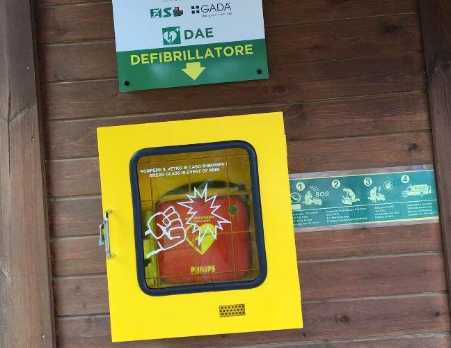 Vergogna a Pescara: rubato il defibrillatore alla Riserva Dannunziana