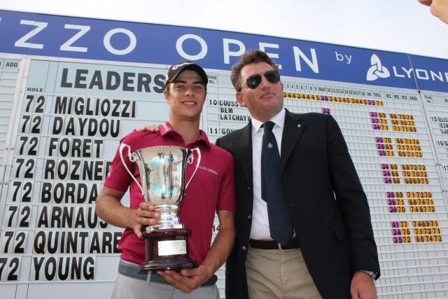 Golf, l'Abruzzo Open a Migliozzi