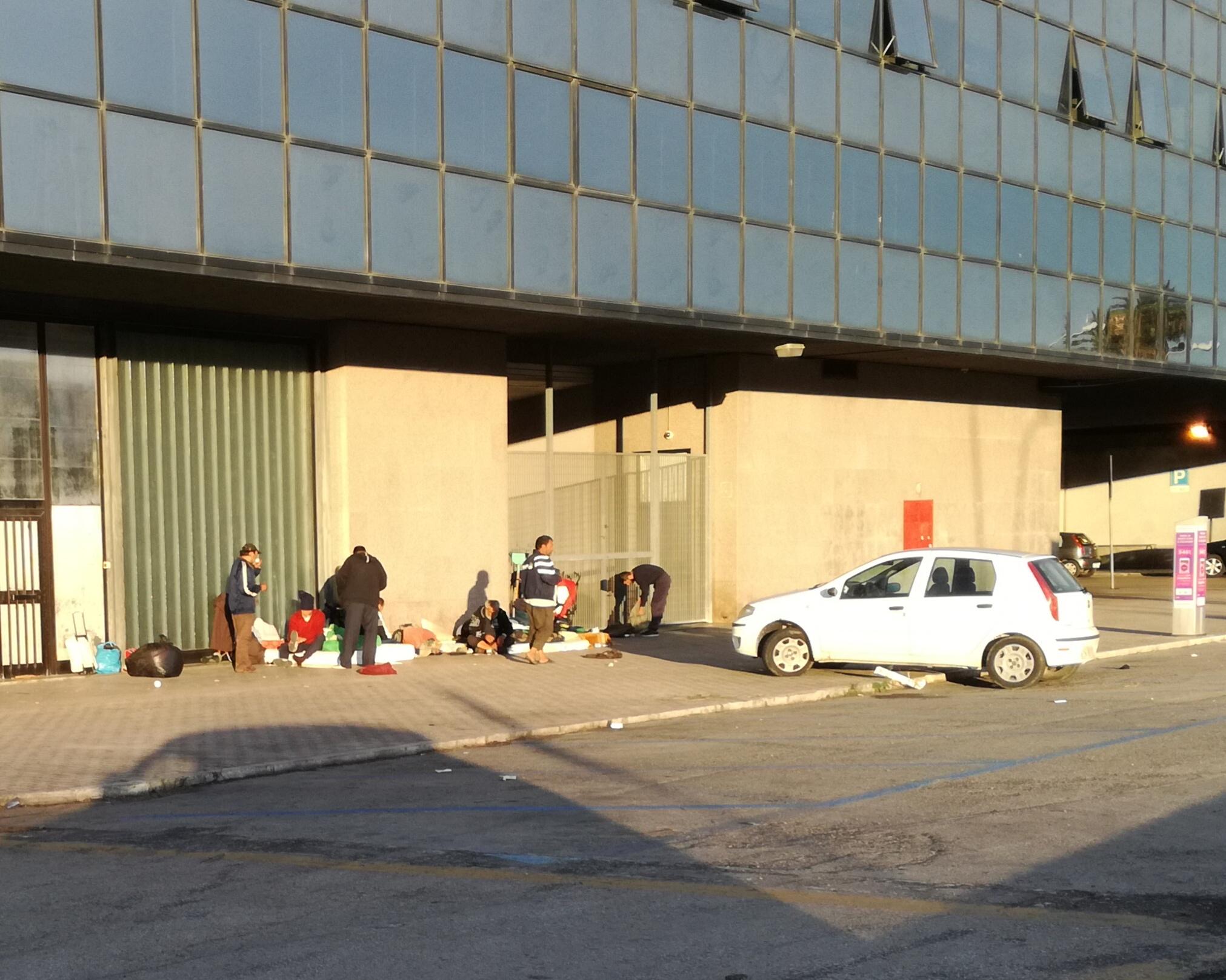 Pescara, ancora degrado alla Stazione ferroviaria