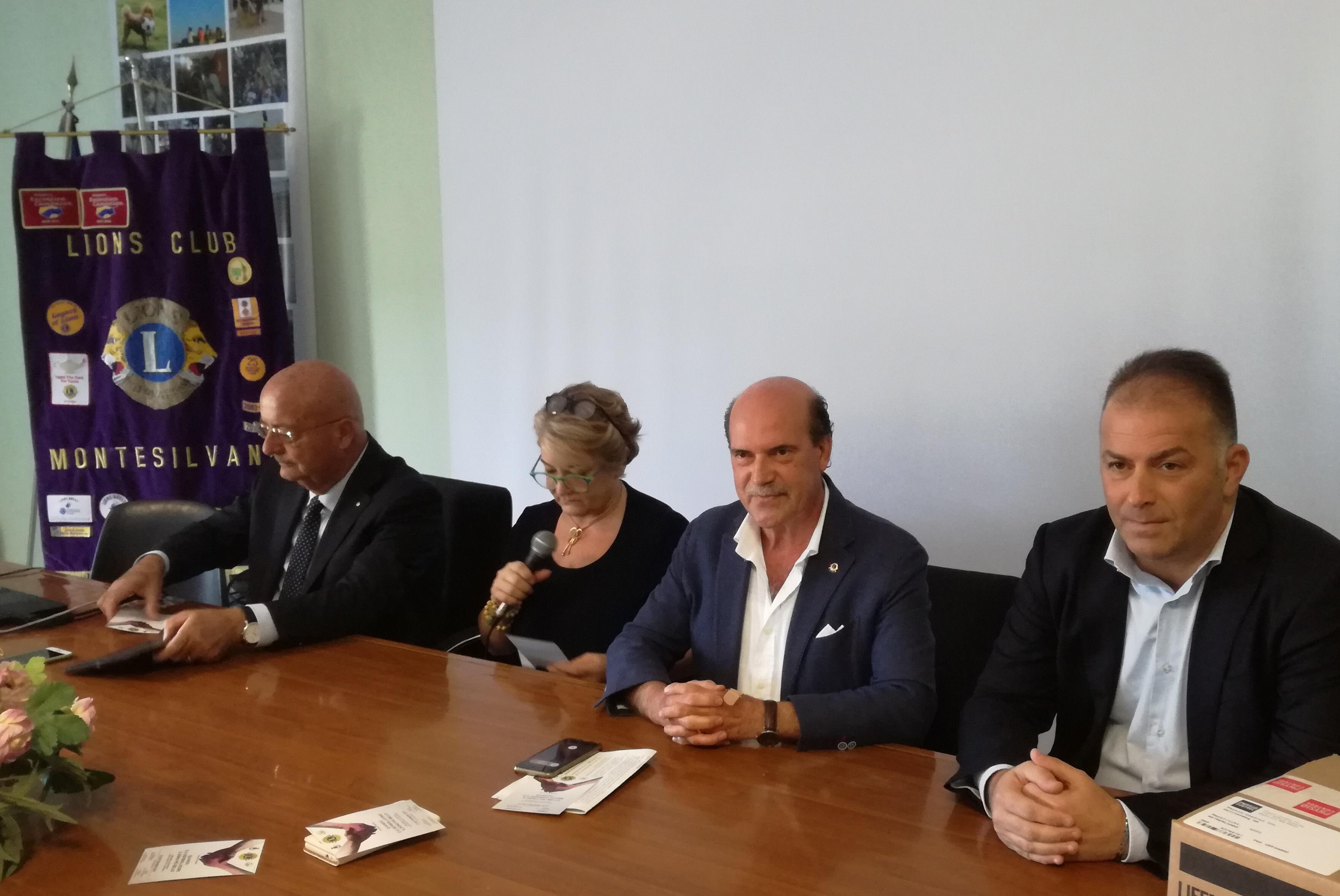 Dal Lions Club un defibrillatore al Liceo Scientifico di Montesilvano
