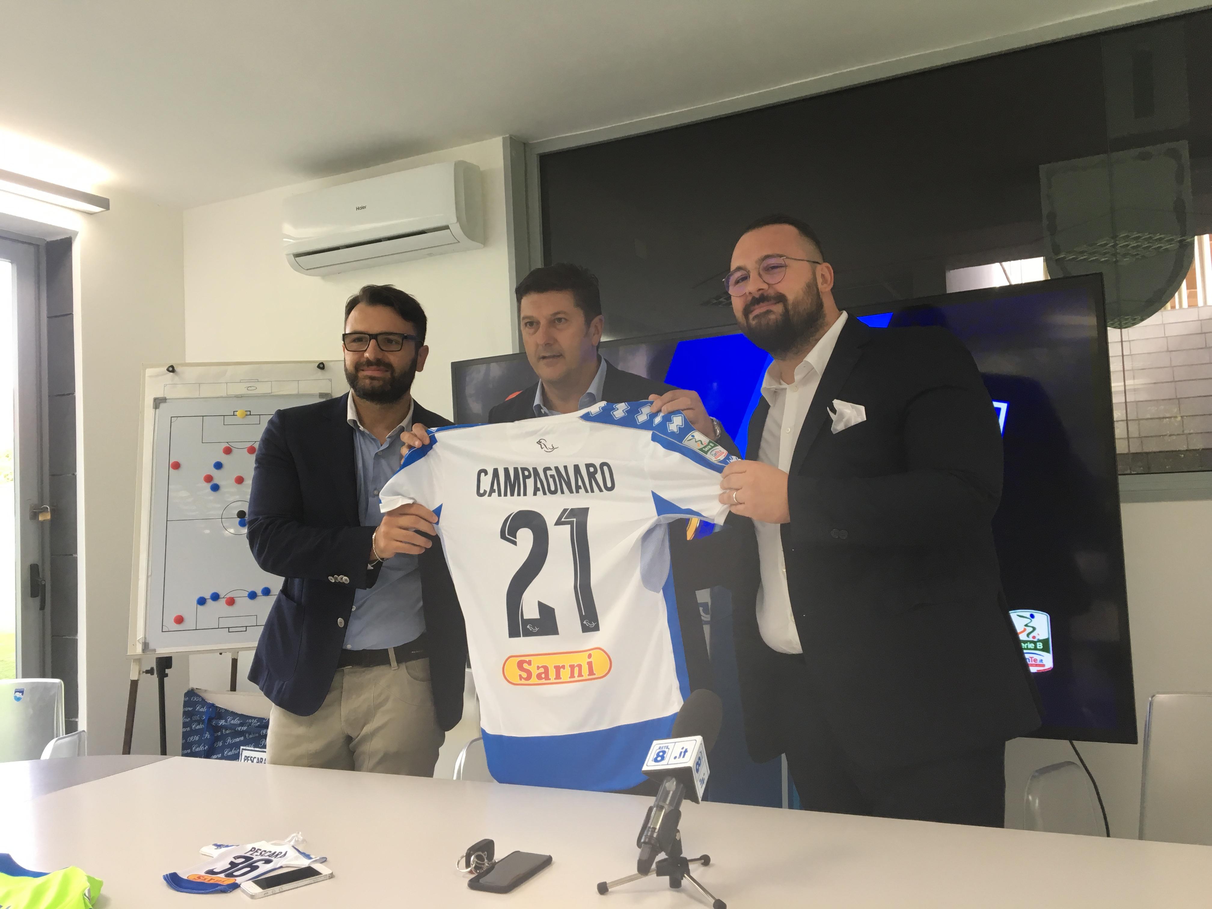 News Pescara Calcio – Ecco il marchio Sarni