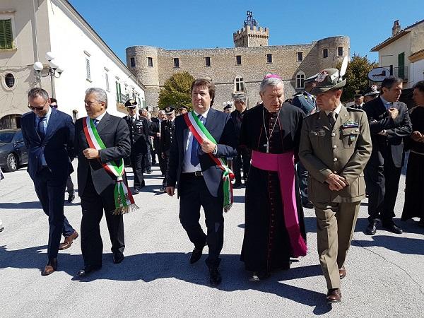 Capestrano, conferita cittadinanza onoraria a Mons. Marcianò