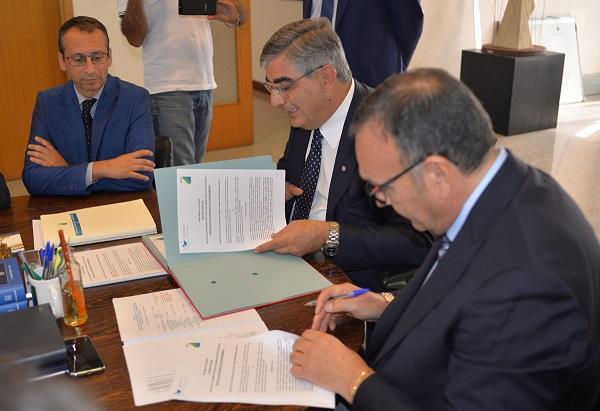 Siglato accordo tra Regione Abruzzo e Autorità Portuale