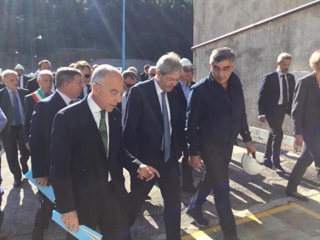 Il Premier Gentiloni torna in Abruzzo