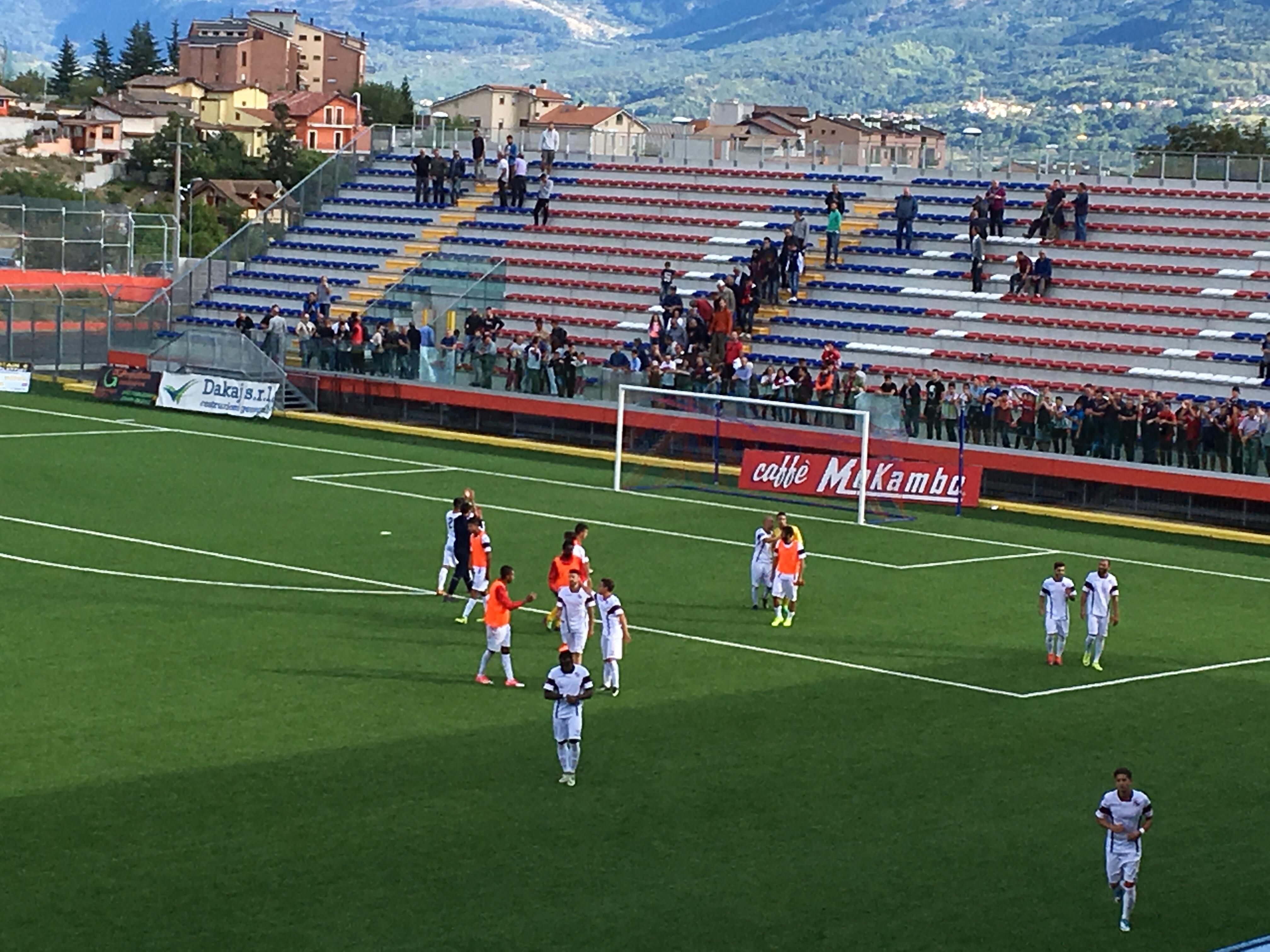Serie D L'Aquila Nerostellati 3-0
