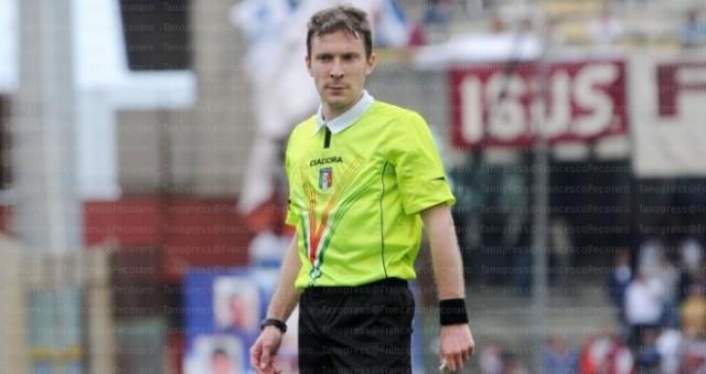 Pescara Entella, ecco l'arbitro