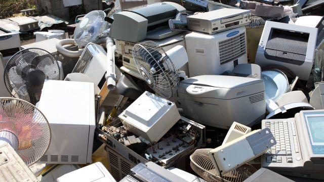 Montesilvano, un centro per i rifiuti elettrici