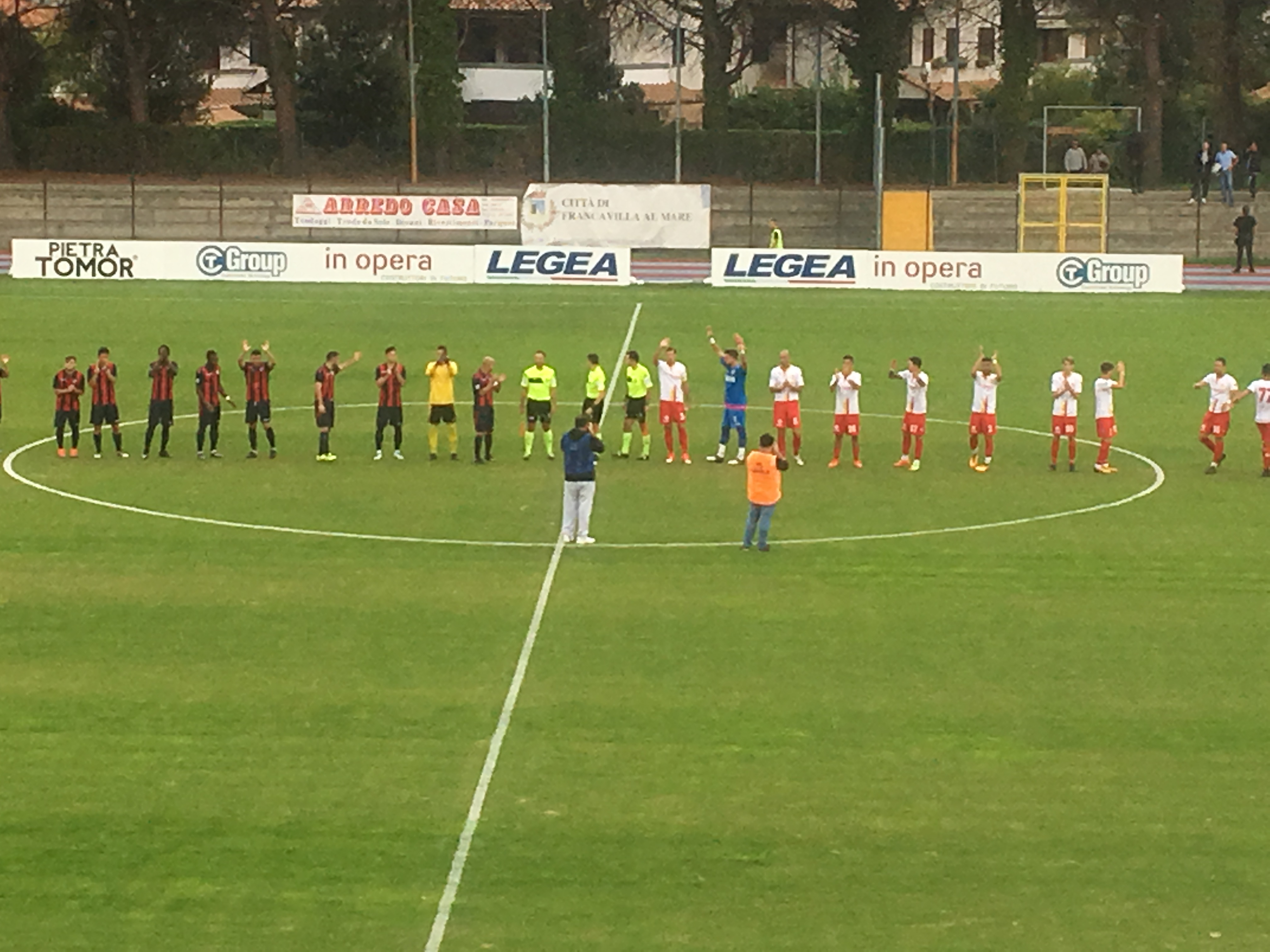 Serie D Francavilla L'Aquila – Risultato finale 3 2