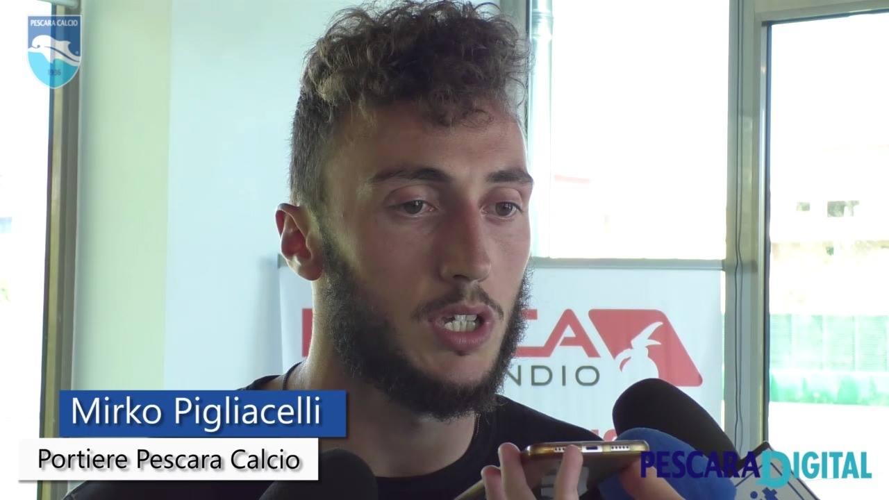 Calciomercato Pescara, Pigliacelli alla Pro Vercelli
