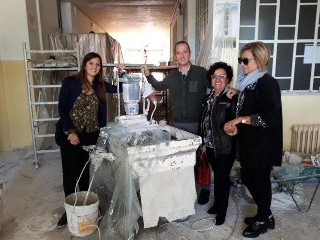 Cepagatti: lavori quasi conclusi all'Agrario di Villareia