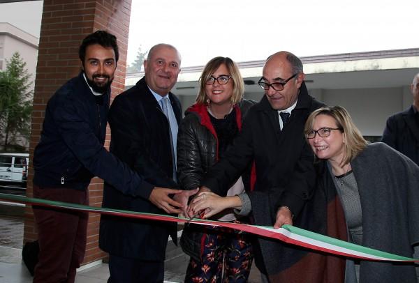 Pescara, taglio del nastro alla Casa dello studente
