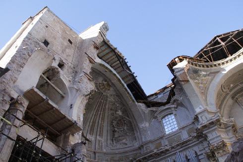 L'Aquila, Duomo di San Massimo: ricostruzione ancora lontana