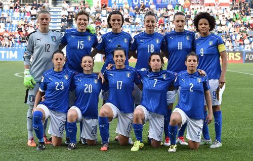 Calcio Femminile, Nazionale a Castel di Sangro