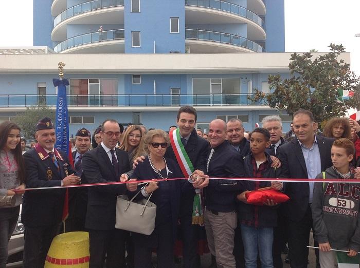 Montesilvano: inaugurato Parco Giovanni e Francesca Falcone