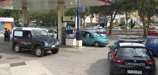 Francavilla, rapina da 15 mila euro al distributore di carburanti