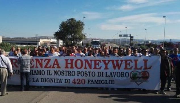 Honeywell chiude: dramma per 420 famiglie