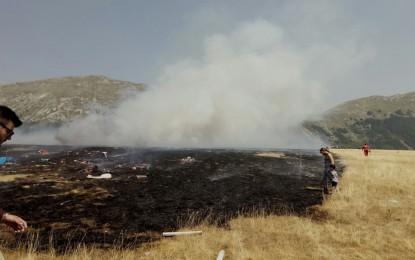 Incendio Fonte Vetica, lo studio che analizza tutti i danni