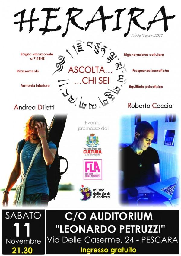Gli Heraira in concerto a Pescara