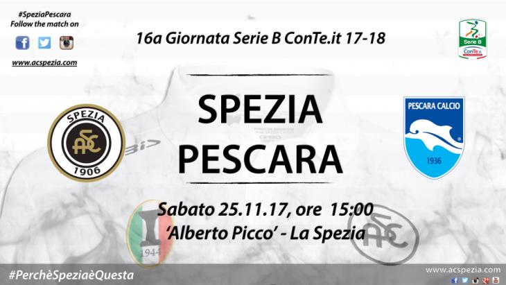 Spezia Pescara, i probabili 11