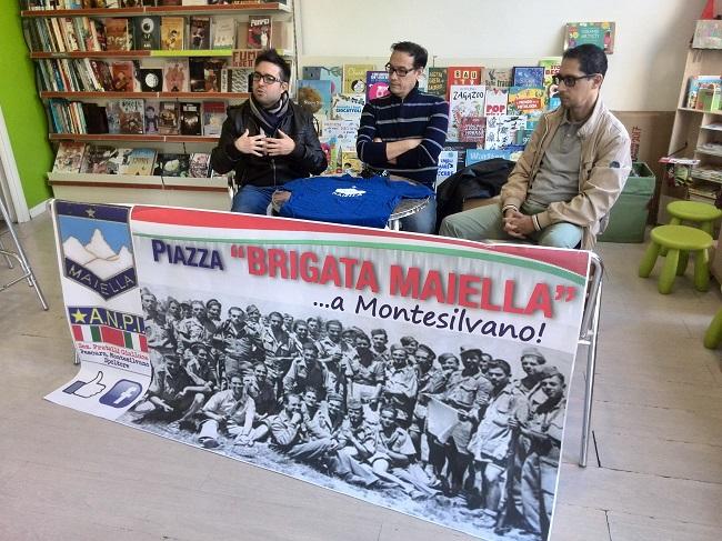 Montesilvano: una piazza intitolata alla Brigata Maiella