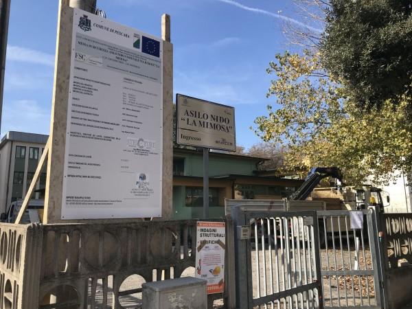 Pescara: lavori antisismici negli asili nido comunali