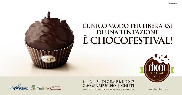 Chieti: da oggi a domenica Chocofestival