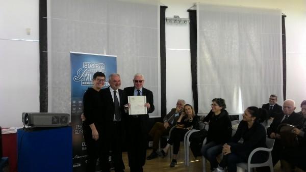 Pescara: 50&Più premia 34 maestri del commercio