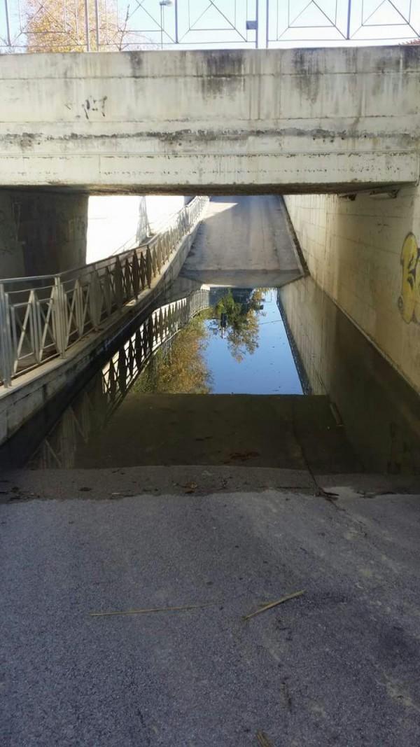 Chieti: il ponte di Petaccia nel degrado