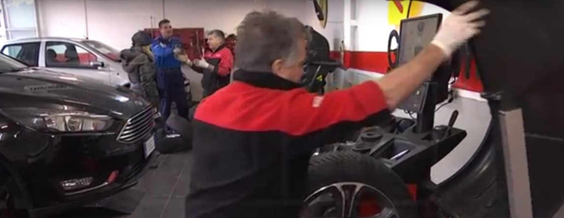 Maltempo Abruzzo: è corsa al cambio dei pneumatici