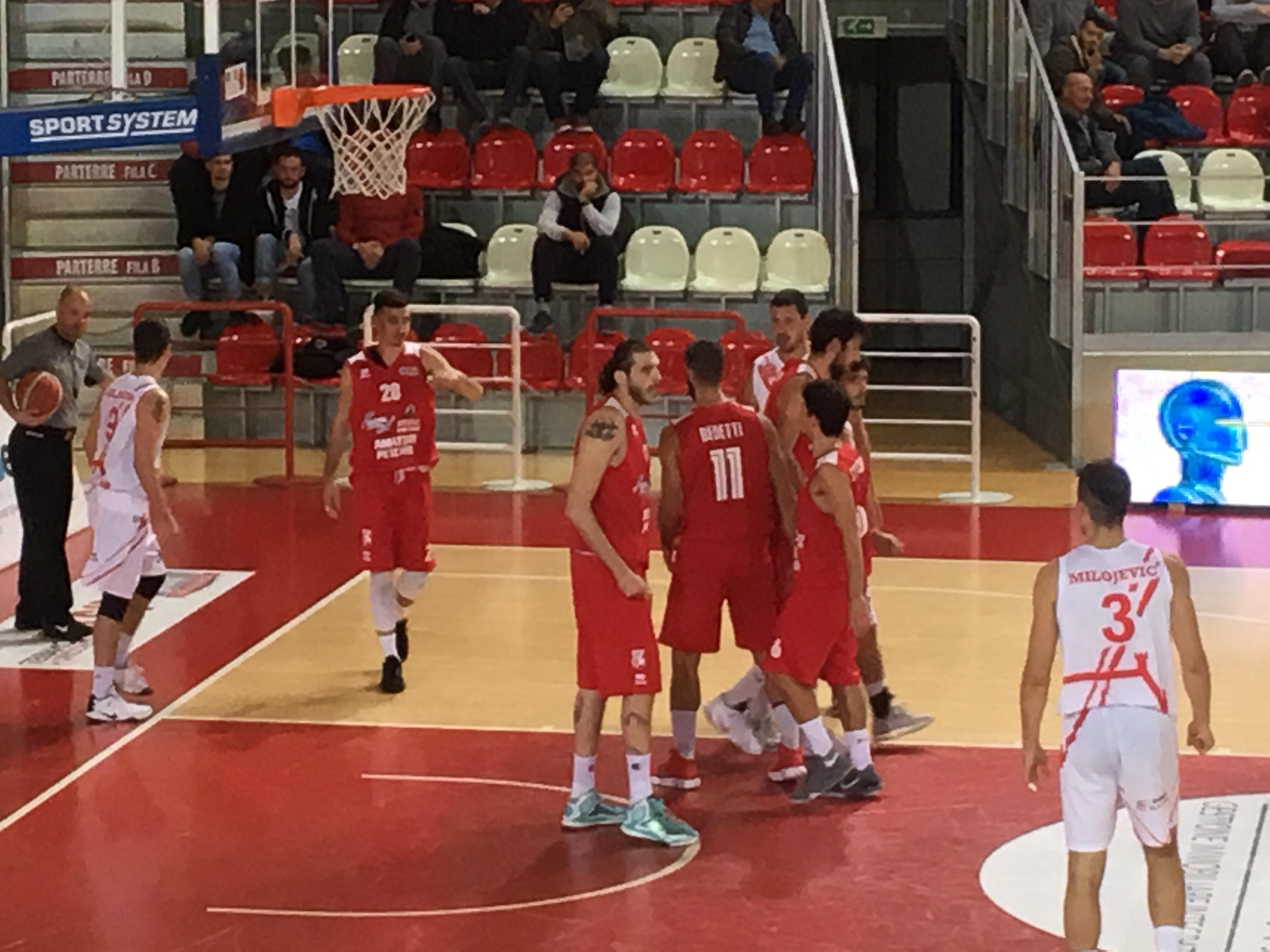 Basket Teramo Pescara – Il derby all'Amatori