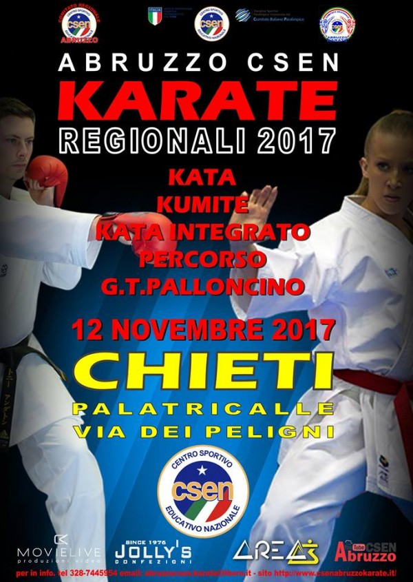 Chieti: prima gara regionale di Karate