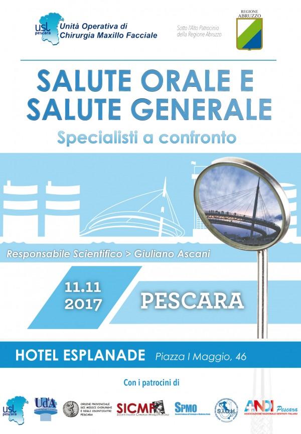 Salute orale: a Pescara arriva il prof Junquera Gutierrez