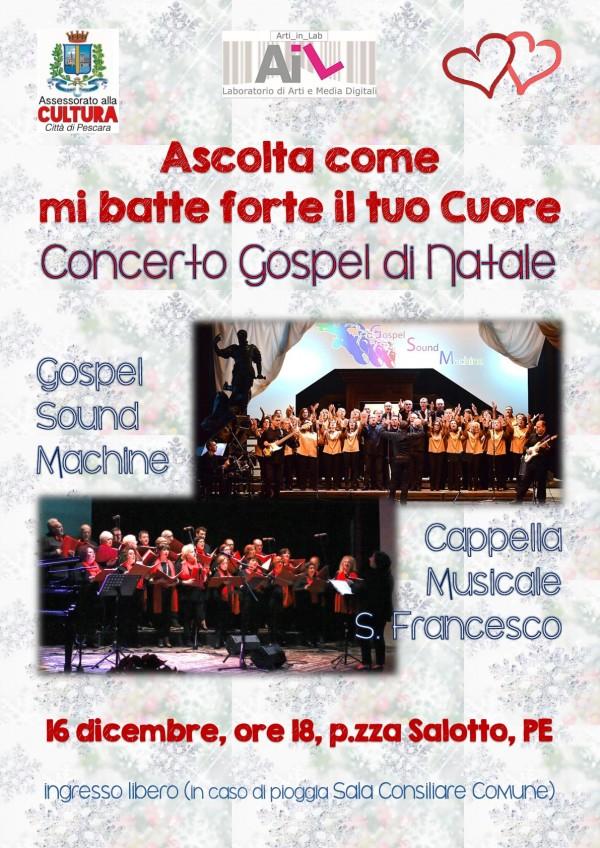 Concerto Gospel di Natale a Pescara