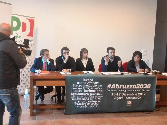 #Abruzzo2030: il Pd programma il futuro