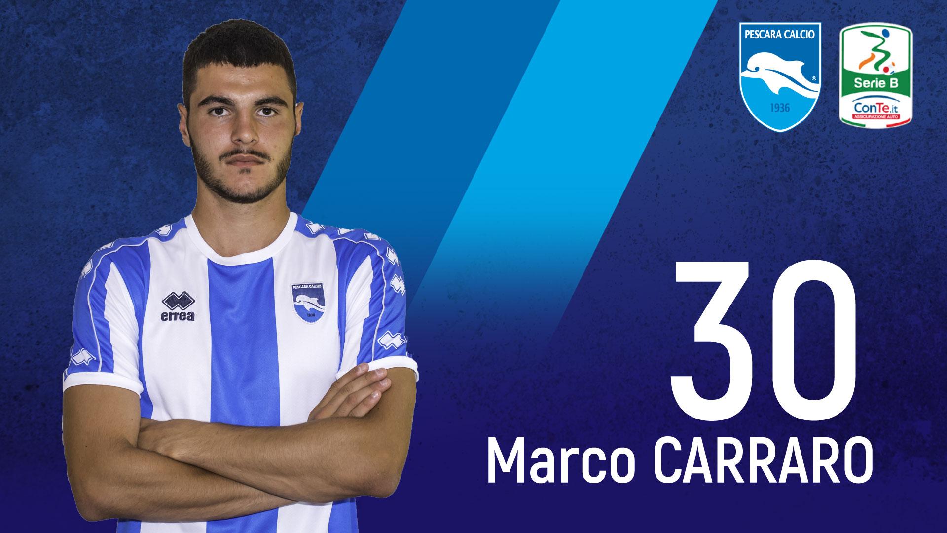 Pescara calcio, squalificato Carraro