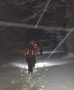 Monti della Laga, alpinista soccorso sul Gorzano