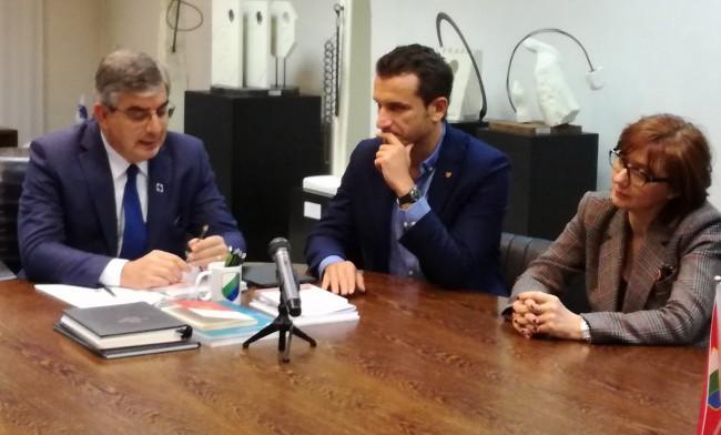 Il sindaco di Tirana in visita istituzionale in Abruzzo