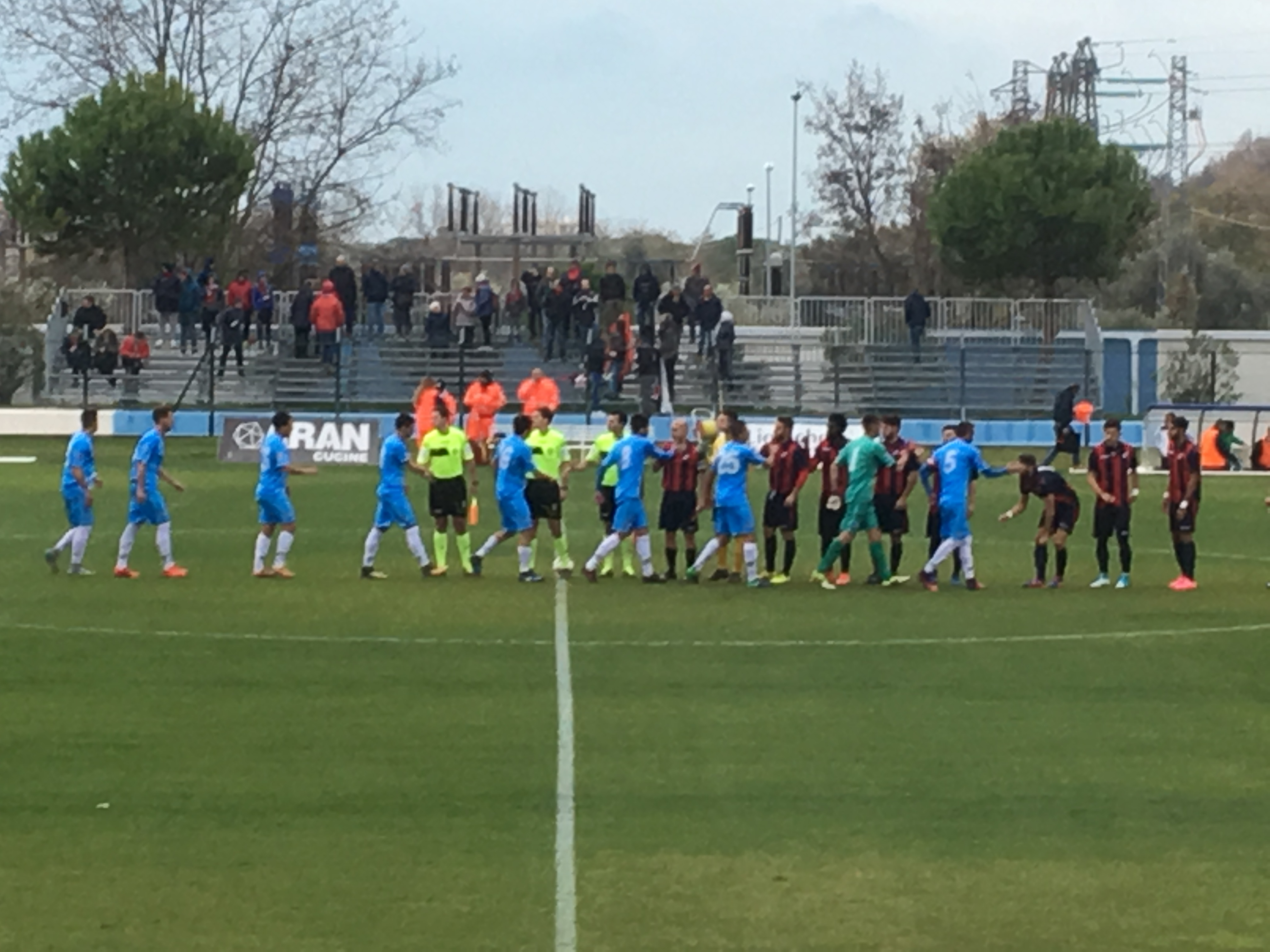Serie D Pineto L'Aquila -Finale 1-1