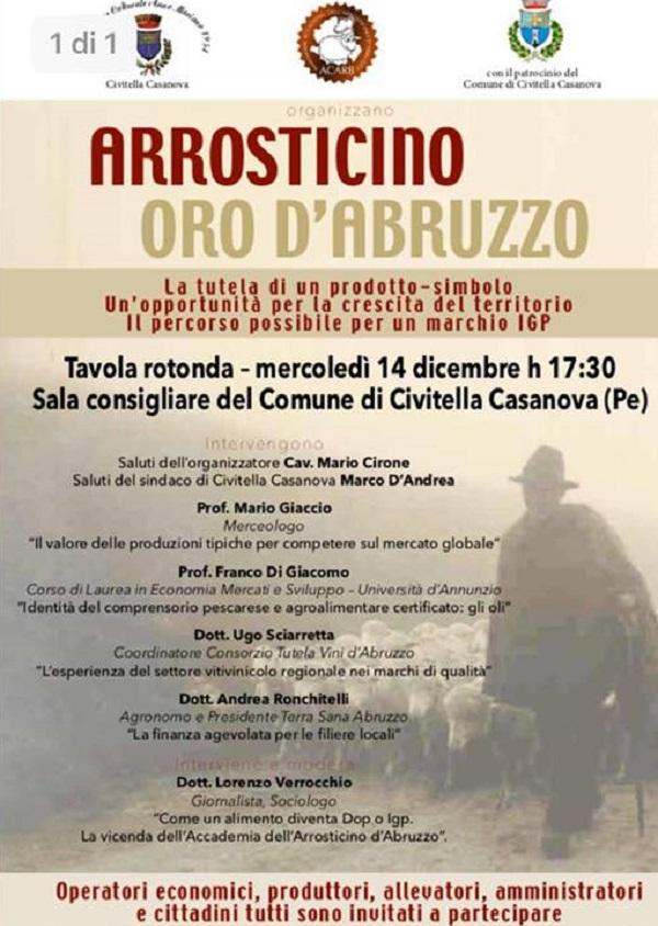 Civitella C.: arrosticino, oro d'Abruzzo