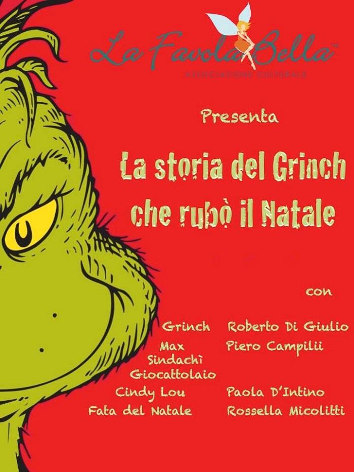 """L'Aquila: """"La storia del Grinch che rubò il Natale"""""""