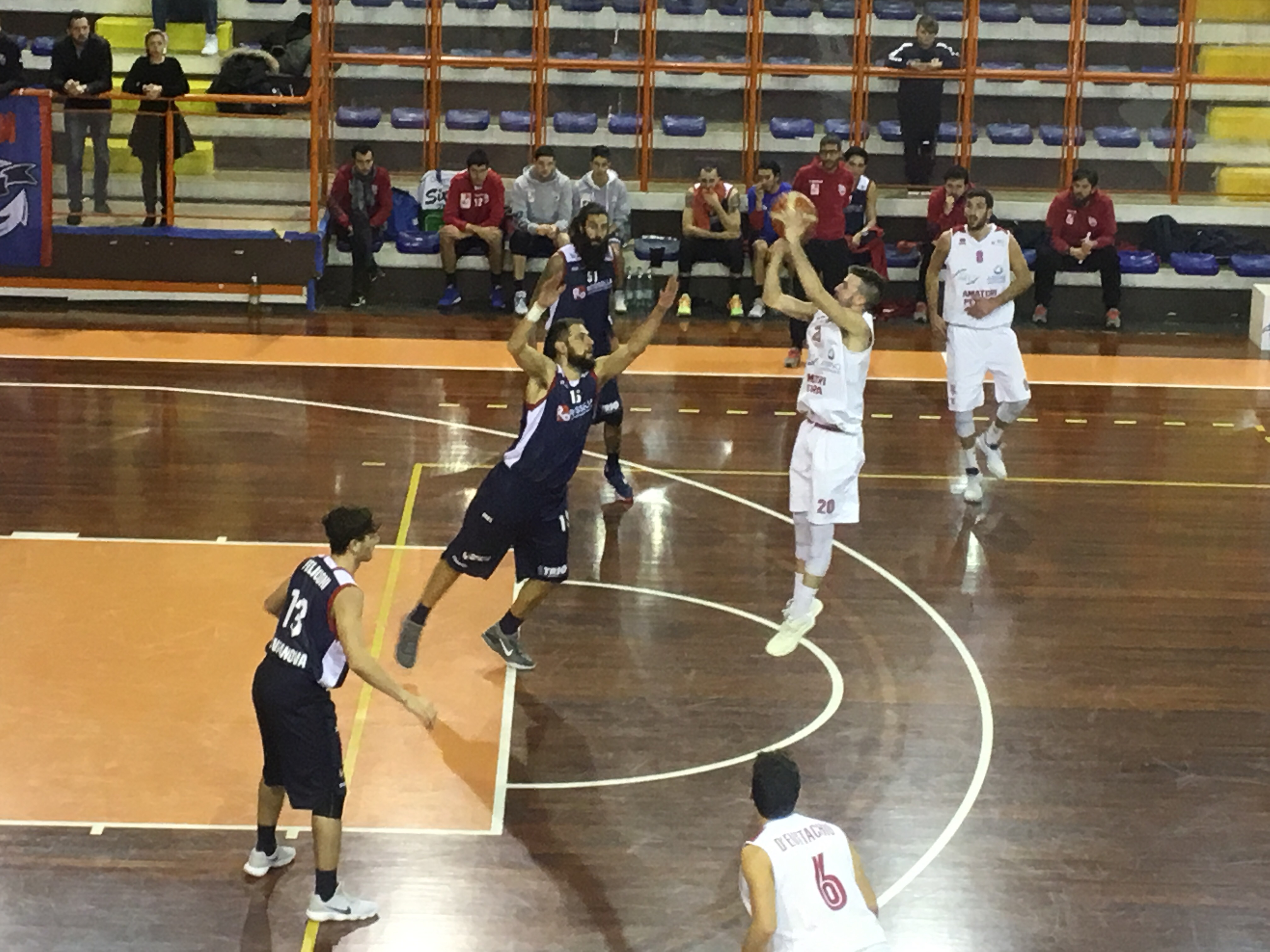 Basket B Amatori – Pescara vola in Coppa
