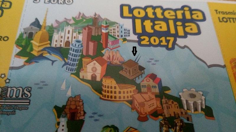 I Trabocchi sui biglietti della Lotteria Italia
